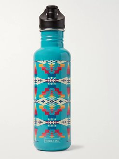 Tucson Stainless Steel Klean Kanteen Insulated Water Bottle, 800ml - Men - Blue