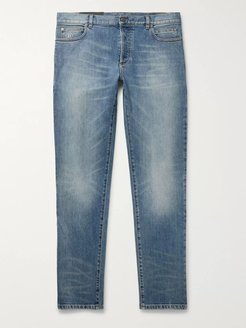 Slim-Fit Denim Jeans - Men - Blue
