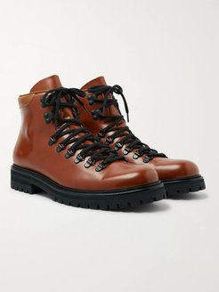 Leather Boots - Men - Brown
