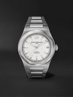 Laureato Automatic 42mm Stainless Steel Watch, Ref. No. 81010-11-131-11A - Men - White