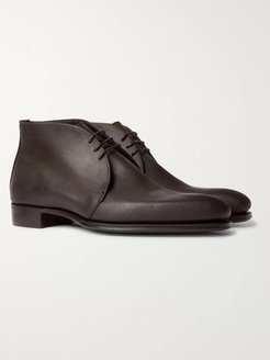 George Cleverley Suede Chukka Boots - Men - Brown