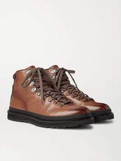 Traverse Leather Boots - Men - Brown