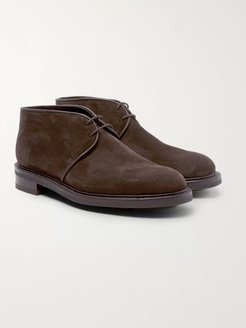 Grove Suede Chukka Boots - Men - Brown