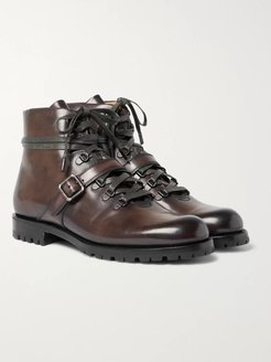 Brunico Leather Boots - Men - Brown