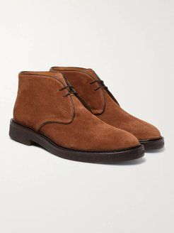 Lucien Suede Desert Boots - Men - Brown