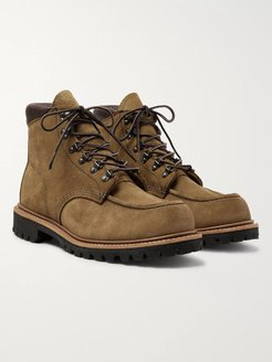 2926 Sawmill Roughout Leather Boots - Men - Brown