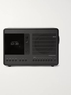 SuperConnect Aluminium WiFi/DAB/DAB/FM Table Radio - Men - Black