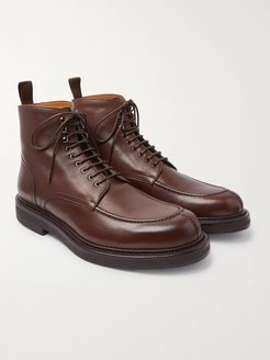 Jacques Leather Boots - Men - Brown