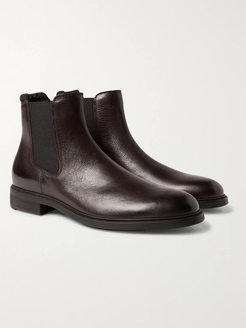 First Class Leather Chelsea Boots - Men - Brown