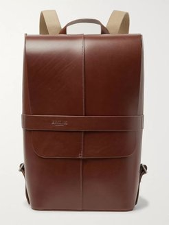 Piccadilly Vegetable-Tanned Leather Backpack - Men - Brown