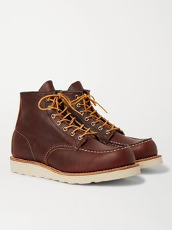 8138 Moc Leather Boots - Men - Brown