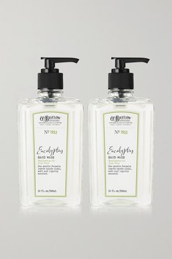 Set Of Two Eucalyptus Hand Washes - Colorless