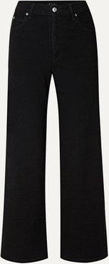 Charlotte High-rise Wide-leg Jeans - Black