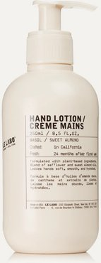 Basil Hand Lotion, 250ml - Colorless