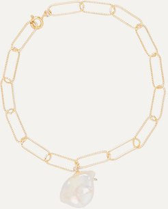 The Talisman Gold-plated Pearl Anklet
