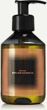 London Bath And Shower Oil, 180ml - Colorless