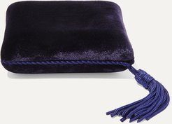 Velvet Jewelry Box - Blue