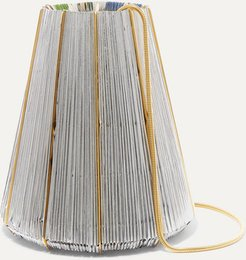 Le Cannelé Gold-plated And Woven Shoulder Bag - Silver