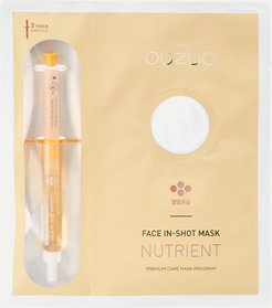 Face In-shot Nutrient Mask X 5 - Colorless