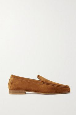 Suede Loafers - Tan