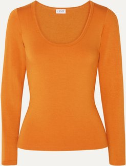 French Terry Top - Orange