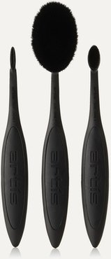 Elite Black 3 Brush Set