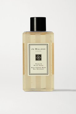 Peony & Blush Suede Body & Hand Wash, 100ml - Colorless