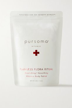 Flawless Flora Ritual Nourishing Smoothing Hisbiscus Body Polish, 113g - Colorless