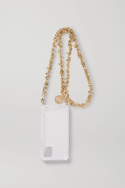 Gold-tone And Perspex Iphone 11 Case