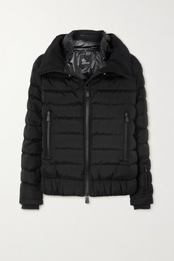 Vonne Quilted Shell Down Jacket - Black