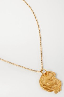 Year Of The Rat Gold-plated Necklace