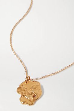 Year Of The Rooster Gold-plated Necklace