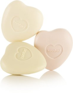 Rose, Geranium And Jasmine Pebble Soap Set, 3 X 75g - Colorless