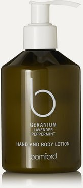 Geranium Hand & Body Lotion, 250ml - Colorless