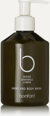 Rose Hand & Body Wash, 250ml - Colorless