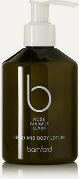 Rose Hand & Body Lotion, 250ml - Colorless