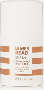 Sleep Mask Tan Go Darker Face, 50ml - Colorless