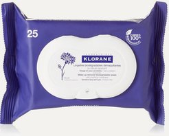 Makeup Remover Biodegradable Wipes With Soothing Cornflower X 25 - Colorless