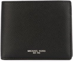 'Harrison' fold over wallet - Black
