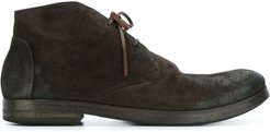distressed desert boots - Brown