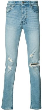 Chitch ripped slim-fit jeans - Blue