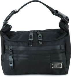 small Cordura Dobby 2way shoulder bag - Black