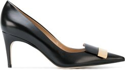 pointed toe pumps - Black