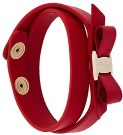 Vara wrap bracelet - Red
