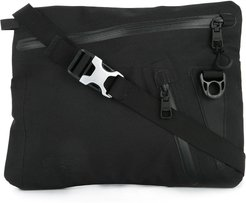 waterproof Cordura shoulder bag - Black