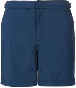 side buckle swim shorts - Blue