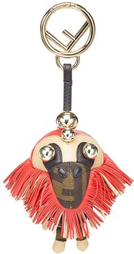 Space monkey bag charm - Red