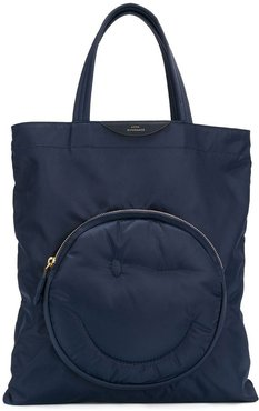 Chubby Wink tote - Blue