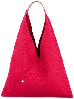N39 triangle tote - Red