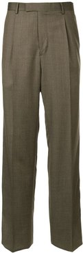formal tailored trousers - Brown
